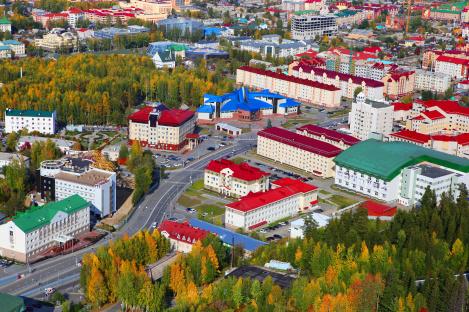 В Ханты-Мансийске завершились работы в рамках нацпроекта «Безопасные и качественные автомобильные дороги» в 2019 году