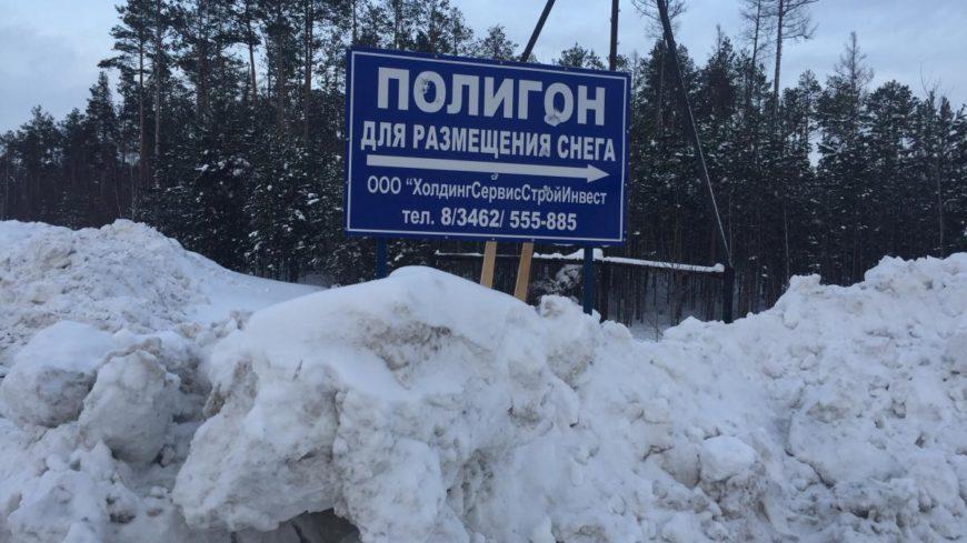 Депутаты Сургута одобрили строительство снегоплавильной станции