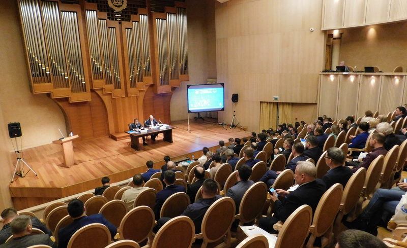 05 марта 2020 года в КТЦ «Югра-Классик» г. Ханты-Мансийск состоялось Общее собрание членов СРО «Союз строителей Югры» и «Союз проектировщиков Югры»
